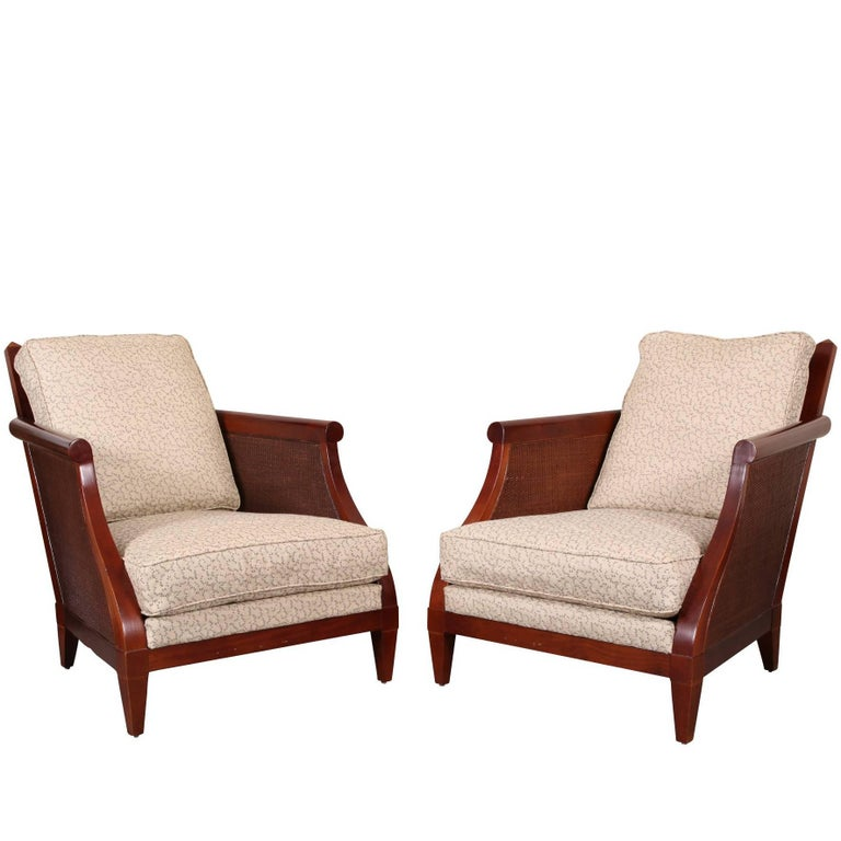 Pair of Holly Hunt for Sutherland Lounge Chairs