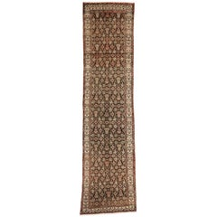Antique Persian Malayer Runner with Aesthetic Movement and Craftsman Style