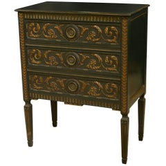 Italian Three-Drawer Commodino Chest