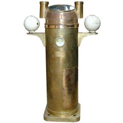 Brass Sestrel Binnacle Compass