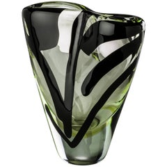 Large Otto Vase from the Black Belt Collection by Peter Marino & Venini