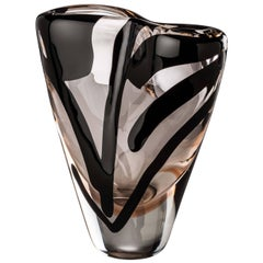 Large Otto Vase in Pink from the Black Belt collection by Peter Marino & Venini