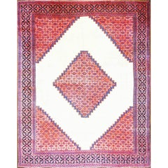 Spectacular Antique Persian Dorosch Carpet
