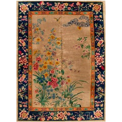 Early 20th Century Colorful Chinese Nichols Rug