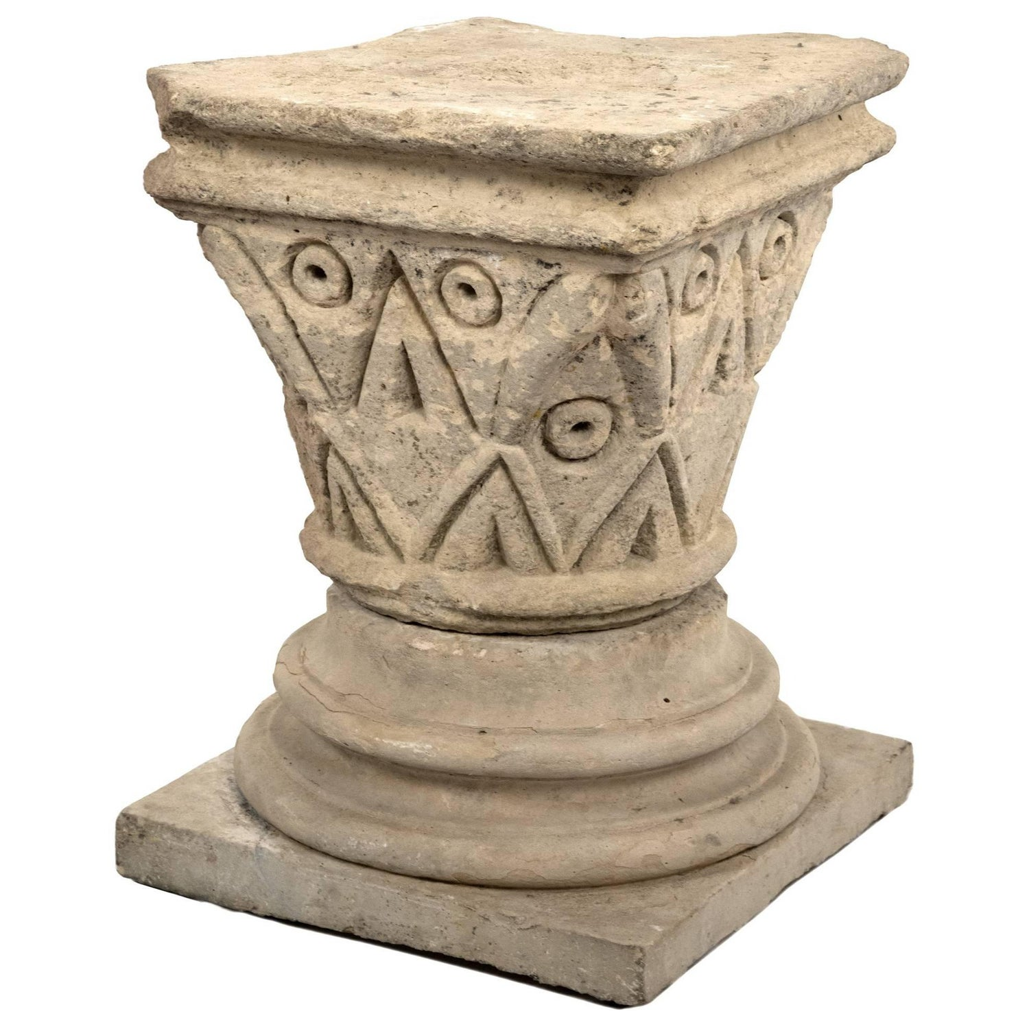 Unique Classical Roman Pedestals and Columns - 30 For Sale at 1stdibs PF62