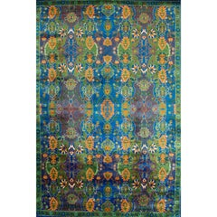 21st Century Colorful Transitional Indian Rug