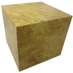 Burled Olive Wood Pedestal