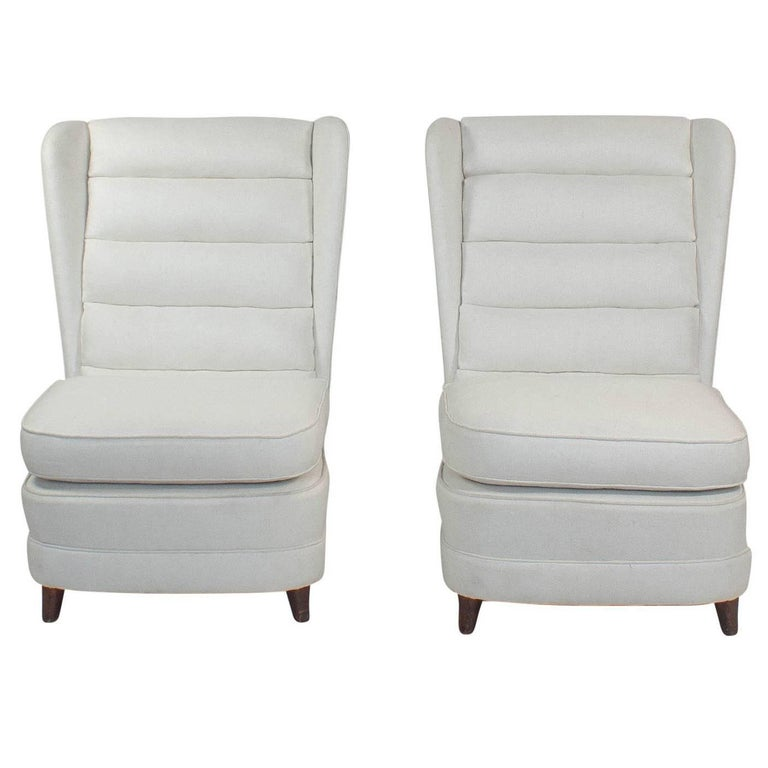 Pair of Mid-Century Modern Club Chairs Danish, circa 1950