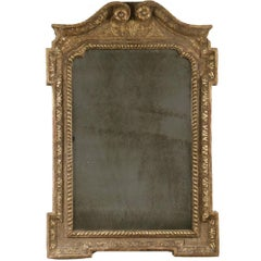 English George I Gilt Mirror
