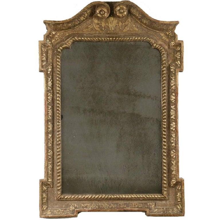 English George I Gilt Mirror