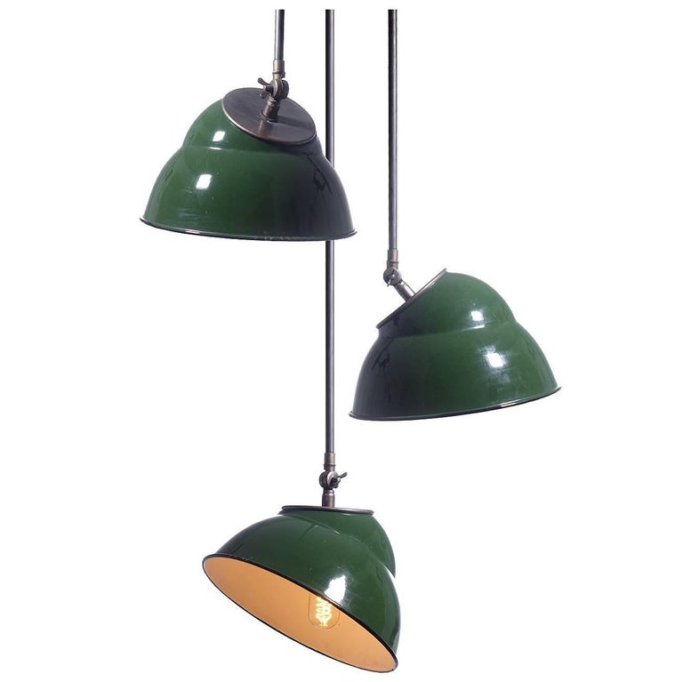 Collection Articulated Stepped Dome Pendants