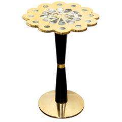Petite Brass Kismet Table