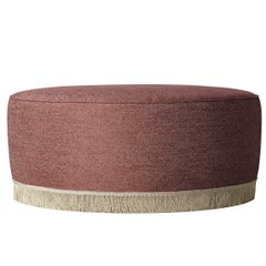 20th Century Unique Ottomans in a Wide Variety of Upholstery