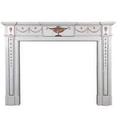 Inlaid Georgian Chimneypiece