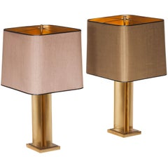 19th Century Regency Brass Table Lamps by Maison Jansen