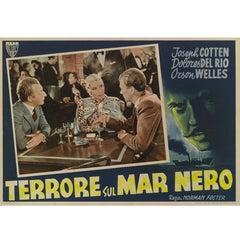 Journey into Fear, Terrore Sul Mar Nero, Original Italian Movie Poster