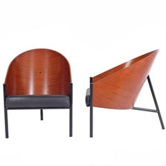 """Pair of """"Pratfall"""" Easy Chairs by Philippe Starck for Driade Aleph"""