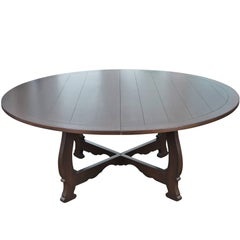 Large-Scale Round Dining Table