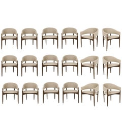 Set of 18 Enroth Dining Chairs