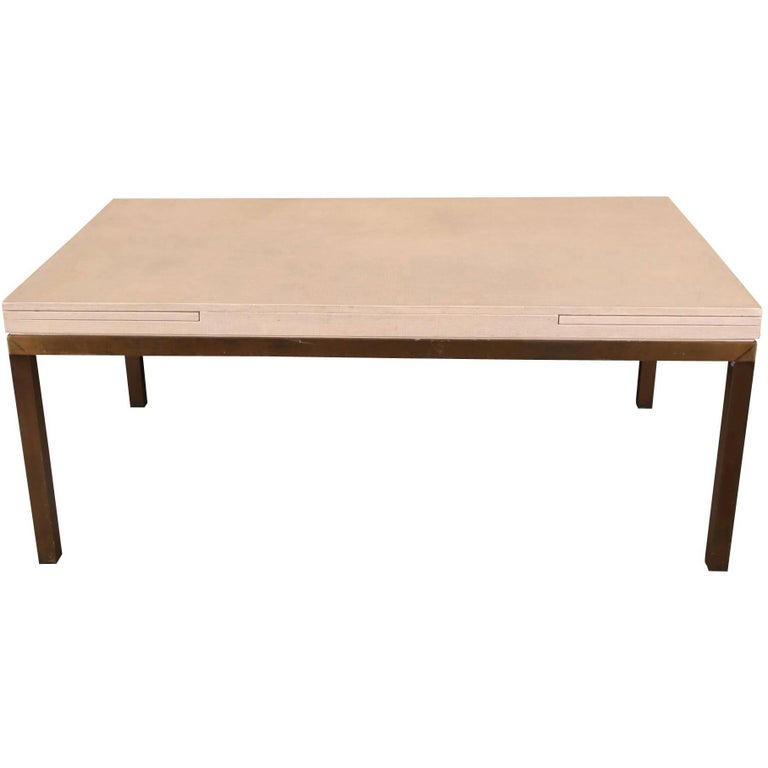 Parson Style Dining Table For Sale