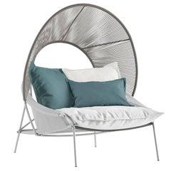 Outdoor Lounge Traveler Armchair Design by Stephen Burks European Edition