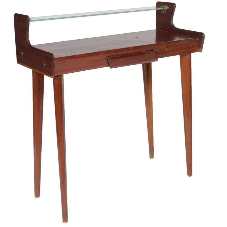 Italian Midcentury Mahogany Console Table by Carlo de Carli, 1950s