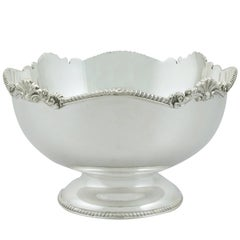 1980s Sterling Silver Bowl