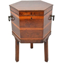 Georgian Mahogany Celleret or Wine Cooler, 19th Century