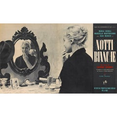 La Notti Bianche / White Nights Original Italian Movie Poster