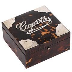 Arthur & John Zimmerman or A & J Silver - Cigarette Box, 1890s