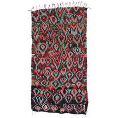 Modern Berber Moroccan Rug with Contemporary Abstract Style