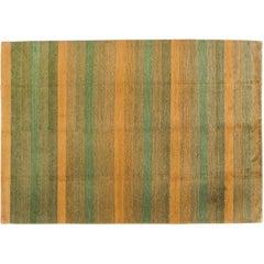 Multicolor Stripe Rug