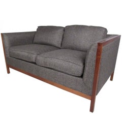 Midcentury Two-Seat Sofa by Stow Davis