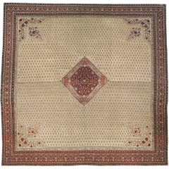 Oversized Antique Turkish Hereke Carpet