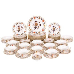 """Royal Crown Derby """"Asian Rose"""" Partial Dinner Service"""