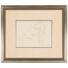 Lithograph after a Henri Matisse Drawing