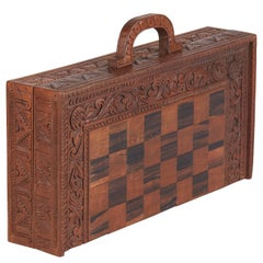Checker's Game Box in Beechwood, France, 1920s