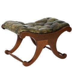 Regency Style Mahogany Footstool