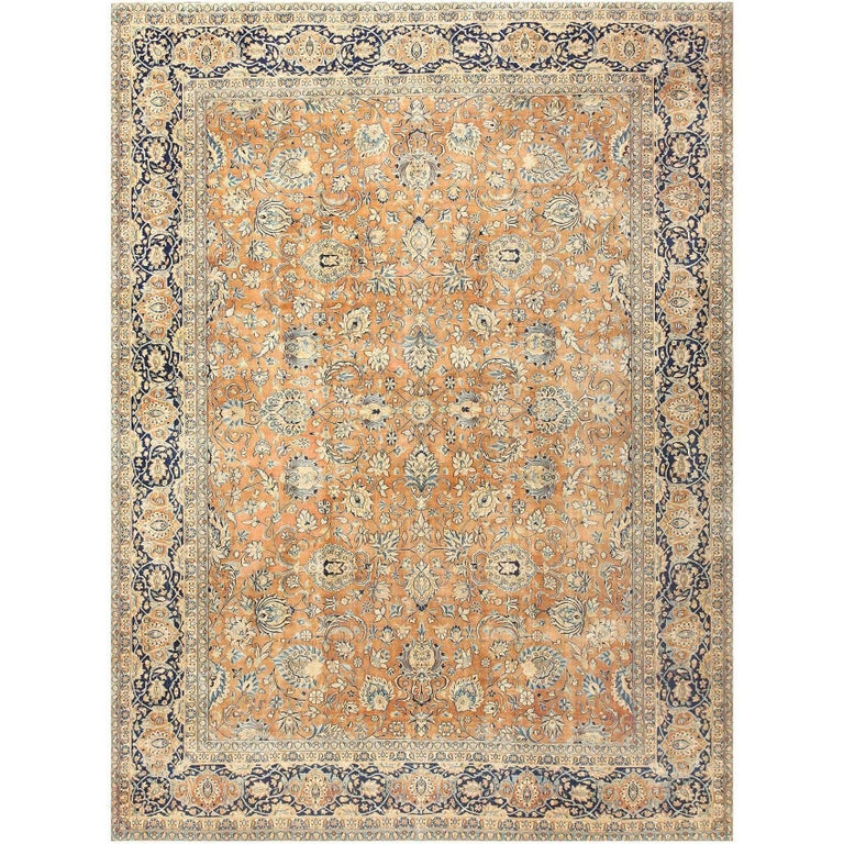 Antique Persian Kerman Carpet  For Sale