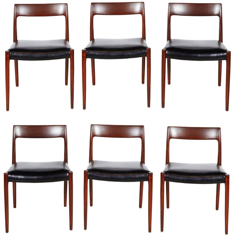 Neils Moller No 77 Dining Chairs, Set of Six 1