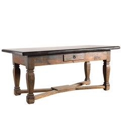 18th Century Swedish Baroque Komstad Table