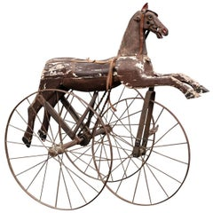 Victorian Velocipede with Hand Cranks, circa 1880