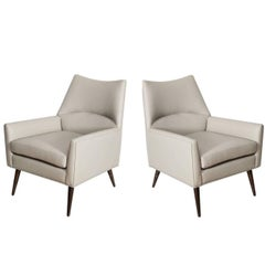 Pair of McCabe Club Chairs