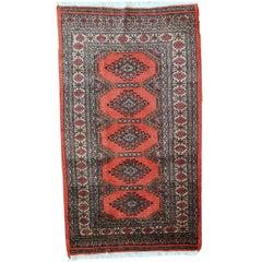 Handmade Vintage Uzbek Bukhara Rug, 1970s