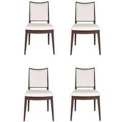 Set of Four Frame Back Dining Chairs