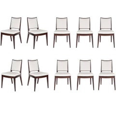 Set of Ten Frame Back Dining Chairs