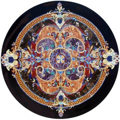 Pietre Dure Inlay Stone Round Tabletop