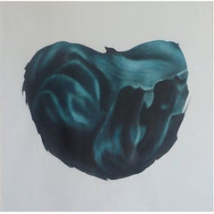 """Heavenly Body XXX"" by Taeko Mima Oil on Canvas Painting, 1984"