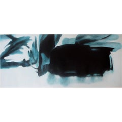"""Heavenly Body LI"" by Taeko Mima Oil on Canvas Painting, 1988"