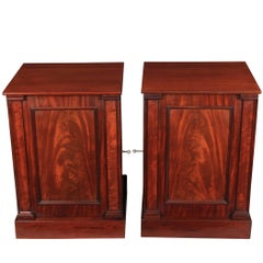 Pair of Large Bedside Cabinets